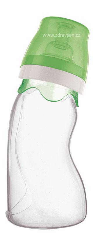 Kojenecká lahev silikonová