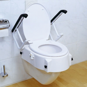 Nastavec na WC s operkami na ruce Russka